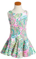 Kate Mack Toddler Girl's Print Scuba Dress