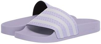 adidas Adilette (Purple Tint/Footwear White/Purple Tint) Women's Slide Shoes