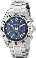 Nautica Men's N19627G NST 402 Analog Display Quartz Silver Watch