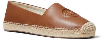 MICHAEL Michael Kors Dylyn Leather Logo Espadrille Flats