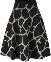 Kolor giraffe print skirt