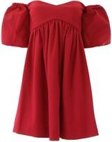 Pinko Off-shoulder Mini Dress