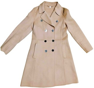 Marc Cain Ecru Cashmere Coat for Women