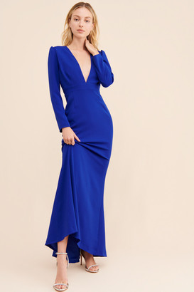 Camilyn Beth Valerie Plunge Gown