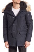 Spiewak Coyote Fur-Trimmed N3-B Aviation Tech Snorkel Parka