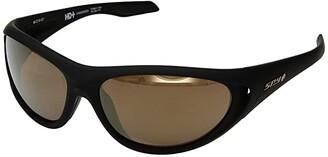 Spy Optic Scoop 2 (25th Anniv Matte Black Gold/HD Plus Bronze/Gold Spectra Mirror) Athletic Performance Sport Sunglasses