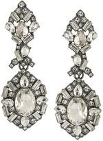 ABS by Allen Schwartz Embellished Chandelier Earrings