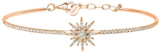 Djula Rose Gold and Diamond Sun Bracelet