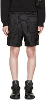 Kokon To Zai Black Body Bag Shorts