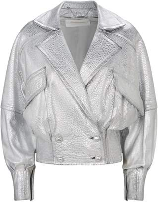 Zimmermann Metallic Biker Jacket