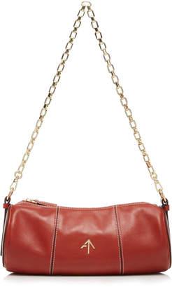 Atelier Manu Cylinder Leather Shoulder Bag