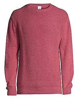 eidos Men's Waffle Knit Cashmere Sweater