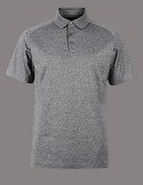 Autograph Pure Cotton Textured Polo Shirt