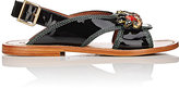 Marni Women's Jewel-Embellished Slingback Sandals-BLACK