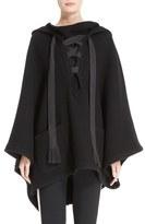 Chloé Women's Tie Front Hooded Cape