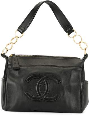 Chanel Pre-Owned CC stitching shoulder bag
