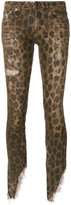 R 13 leopard printed jeans