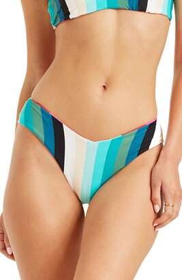 Billabong Sol Stripes Fiji Reversible Bikini Bottoms