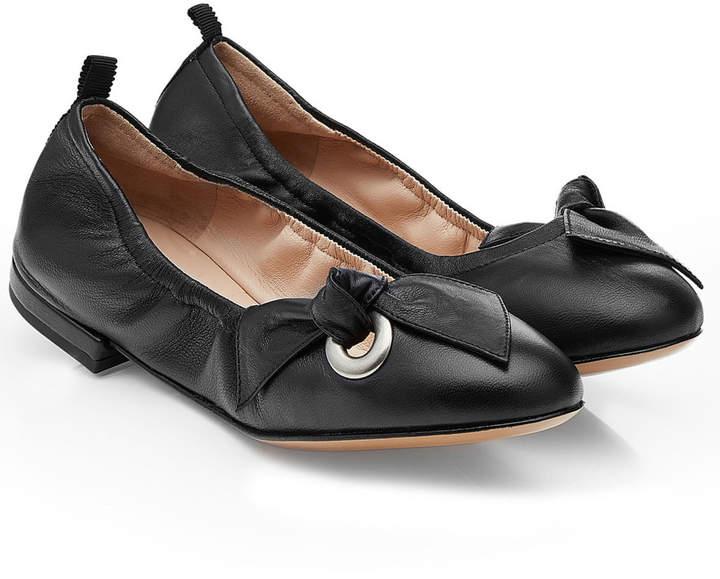 Marc Jacobs Leather Ballerinas