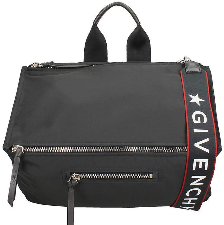 Givenchy Pandora Bag In Black Nylon