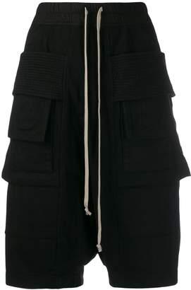 Rick Owens cargo bermuda shorts