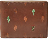 Fossil Men's Kenny Rfid-Blocking Cactus Leather Bifold Wallet
