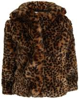 Gap LEOPARD COAT Light jacket leopard print