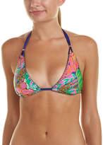Trina Turk Tropic Escape Triangle Bikini Top