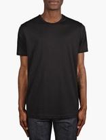 Sunspel Black Short Sleeve Crew Neck T-Shirt