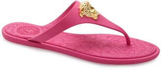 Versace Medusa Thong Sandal
