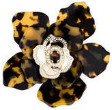 Valentino Resin Flower Brooch