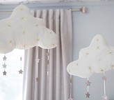 Pottery Barn Kids Hanging Clouds with Stars - SMALL