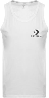 Converse Star Chevron Logo Vest White
