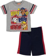 "Paw Patrol Little Boys' Toddler ""Rescue Lineup"" 2-Piece Outfit"