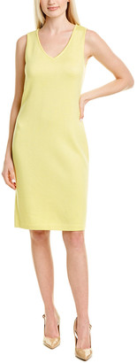 St. John Wool-Blend Sweaterdress