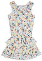 Splendid Girls' Allover Print Ruffle Dress - Little Kid