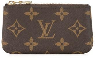 Louis Vuitton 2019 pre-owned monogram Pochette Cles coin case