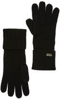 Cole Haan Diagonal Ribbed Wool Gloves