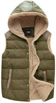 ZSHOW Women's Outwear Sport Casual Vest Slim Thick Hooded Jackets,US