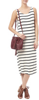 Knot Sisters Striped Midi Dress