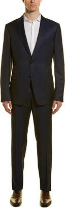 Ermenegildo Zegna Z Turati 2Pc Wool & Mohair-Blend Suit With Flat Pant