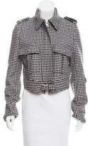 J.W.Anderson Houndstooth Moto Jacket