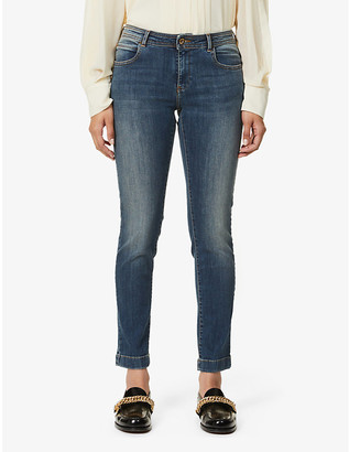 Sessun Stoneford skinny low-rise stretch-denim jeans