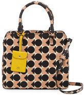 Orla Kiely Spot Square Triangle Print Vinyl Small Jeanie Bag
