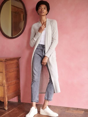 White + Warren Cashmere Luxe Long Cardigan