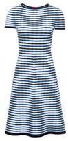 HUGO BOSS Striped A-Line Dress Sawnia S Patterned