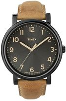 Timex Unisex Originals Leather Watch