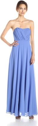 Vera Wang Women's Sweetheart Strapless Long Dress