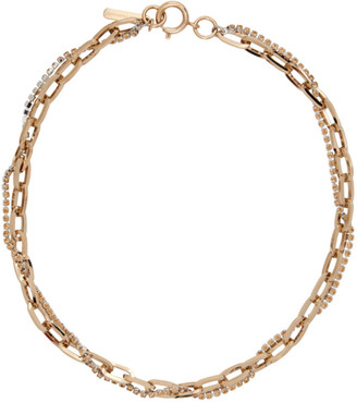 Justine Clenquet SSENSE Exclusive Silver Kirsten Necklace