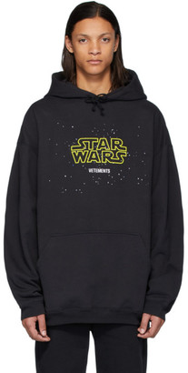 Vetements Black STAR WARS Edition Episodes Hoodie
